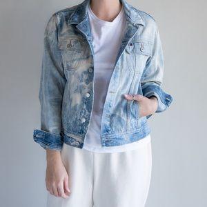 90's Vintage Tommy Hilfiger Denim Jacket